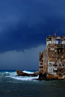Byblos forboding skies