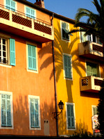 Palm shadow in Villefranche.